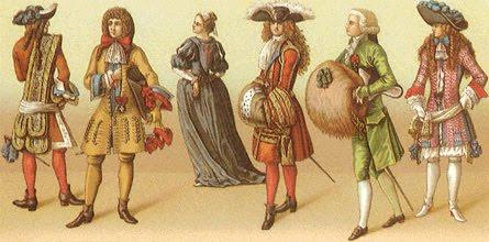 мода времен барокко, журнал вектор, vector, HEAGLOBE
